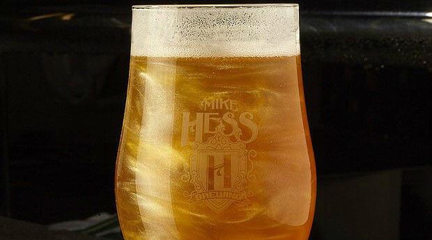 Glitter na cerveja