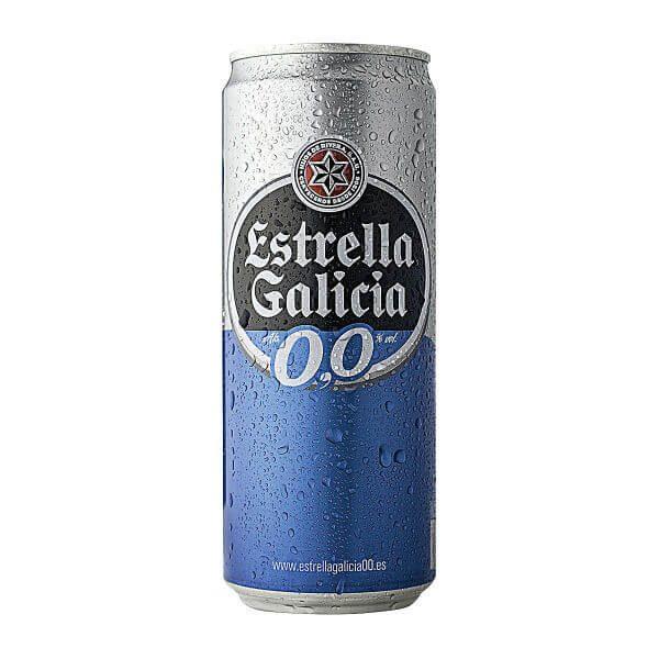 estrella galicia sem alcool