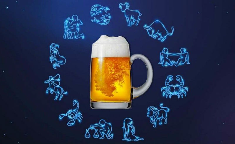 mapa astral e cerveja