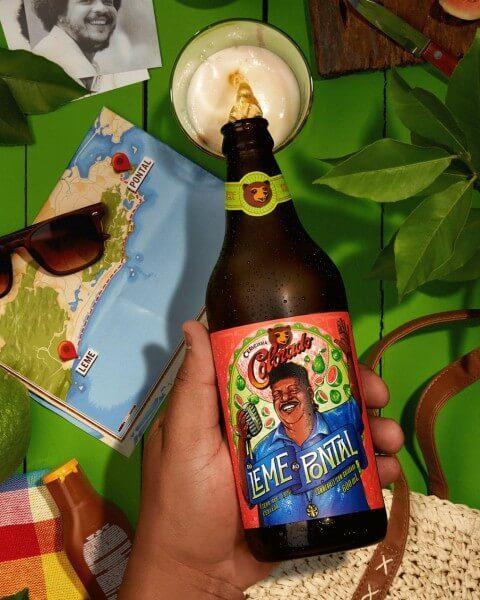 Cerveja do tim maia