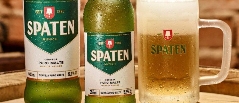Spaten garrafas e canecas